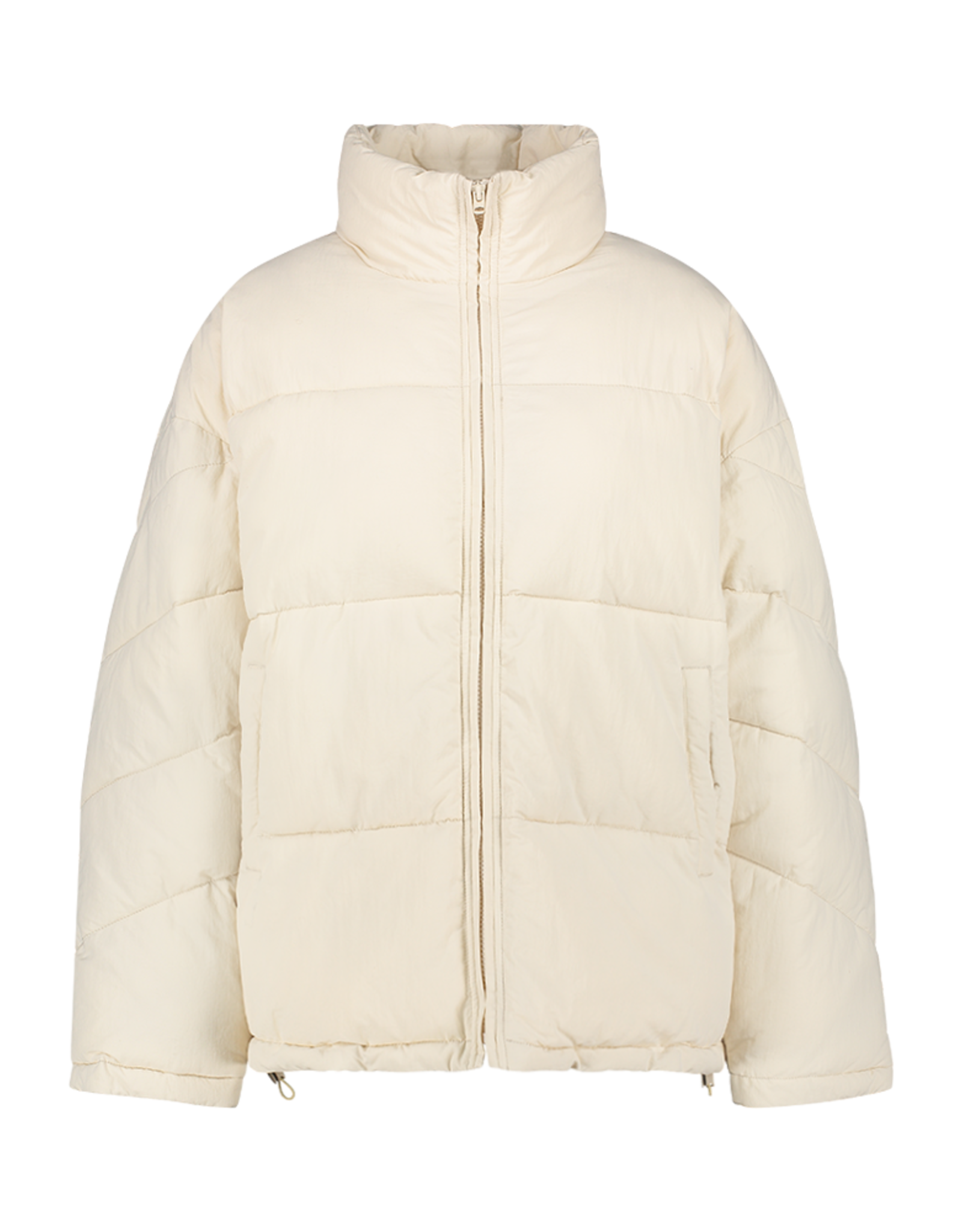 Another Label Jas 'Mille' Oversized Puffer Crystal Grey - Another-Label
