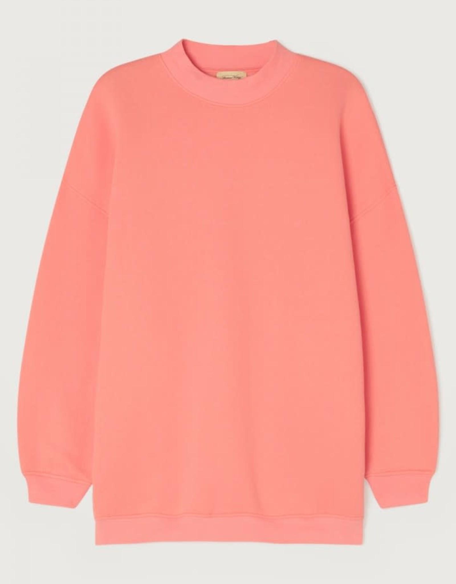 American Vintage Damessweater 'Ikatown' - Petune - American Vintage
