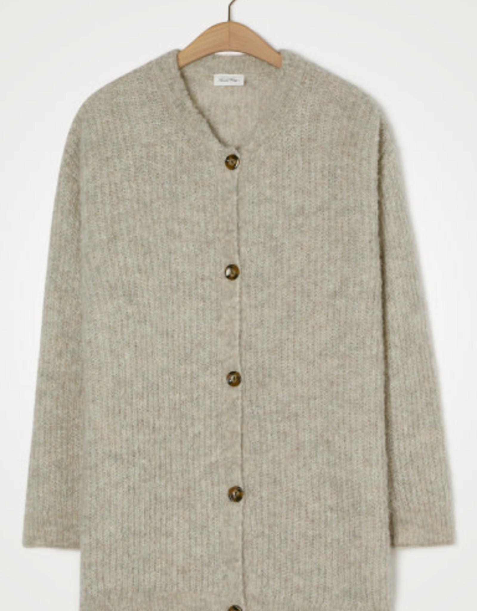 American Vintage Gilet/vest 'Verywood' - Brume Chine - American Vintage