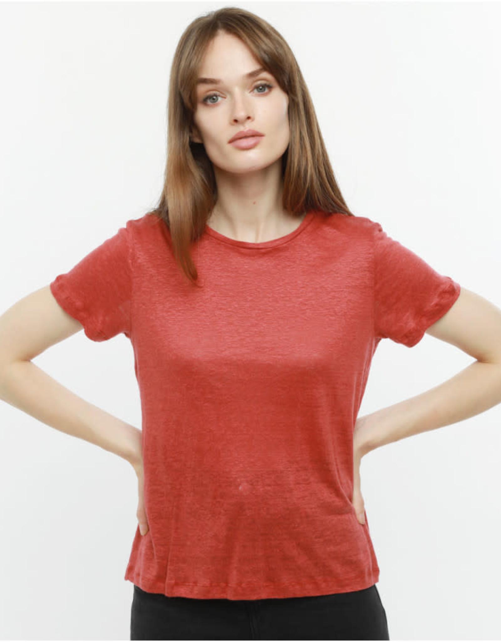 The Golden House T-Shirt 'Melody' - Rust