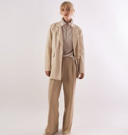 Another Label Broek 'Moore' Pleated Beige - Another-Label
