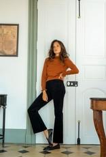 La Petite Etoile Broek 'Sonny' Velvet Zwart - LPE