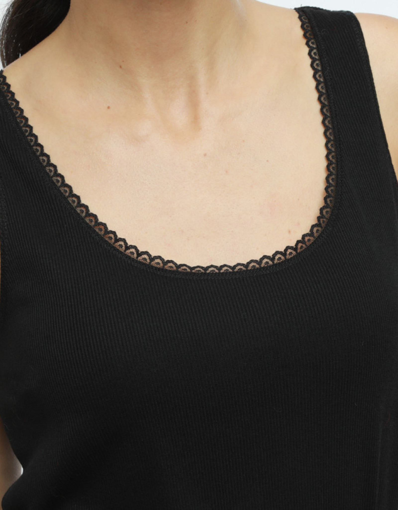The Golden House Top 'Candice' - Black