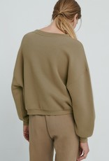 American Vintage Damessweater 'Ikatown' - Herisson - American Vintage