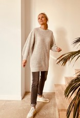 Orfeo - LMK Sweaterjurk 'Moutih' - Grijs - Orfeo