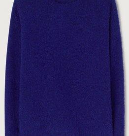American Vintage Pull 'Verywood' - Koningsblauw - American Vintage