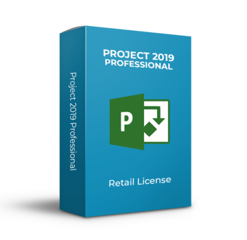 Microsoft Microsoft Project 2019 Pro - Retail