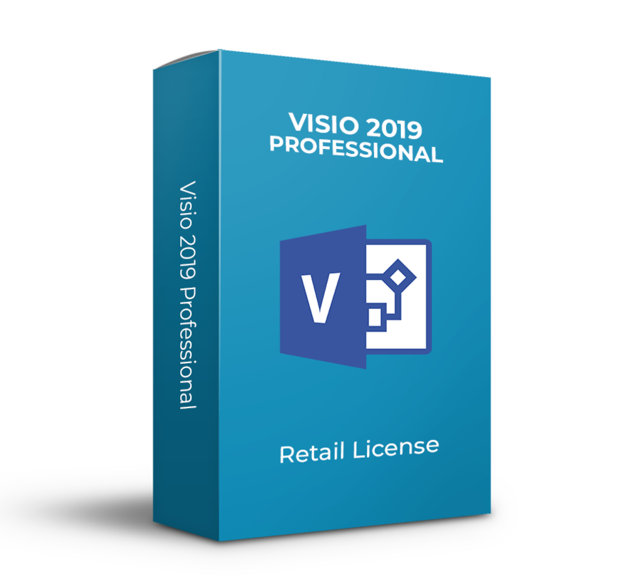 Microsofot Visio 2019 Professional - Todos los idiomas