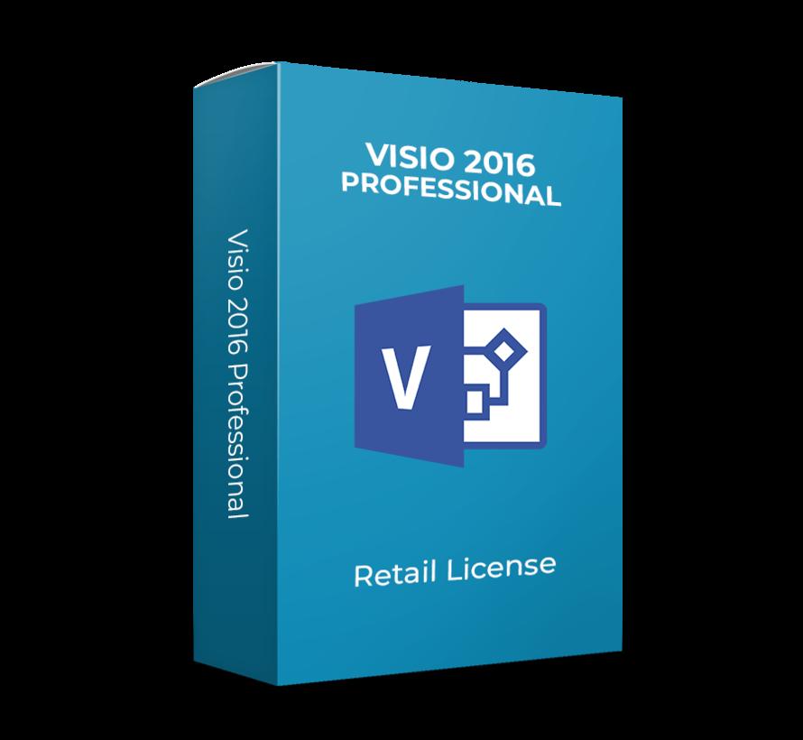 Microsoft Visio 2016 Professional - Todos los idiomas