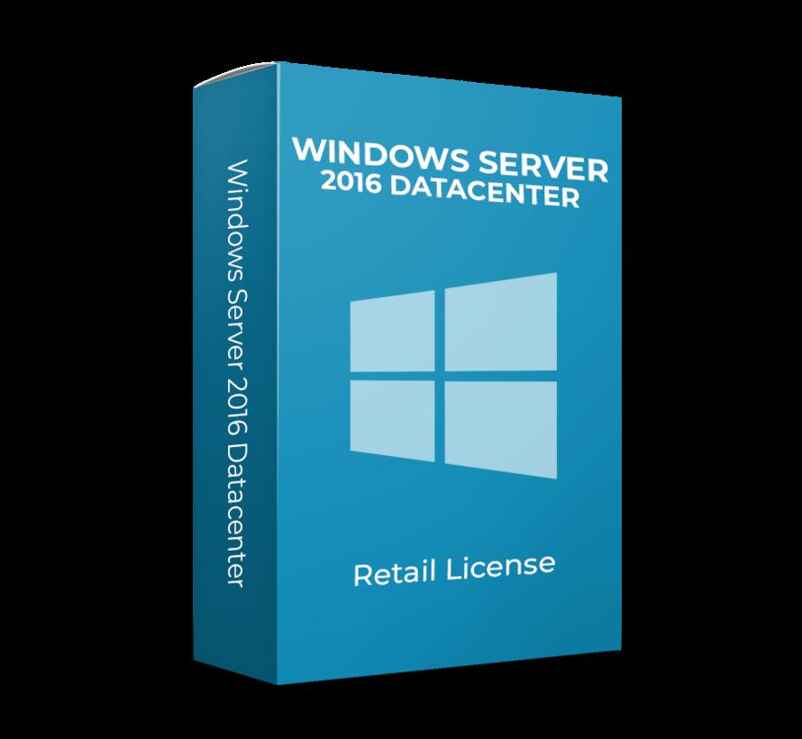 Microsoft Windows Server 2016 Datacentre 16 Cores Inglés | Por HP y Dell