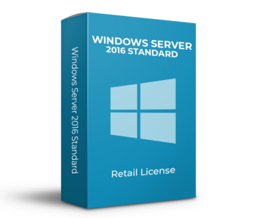 Microsoft Windows Server 2016 Standard - 16 Cores - Inglés