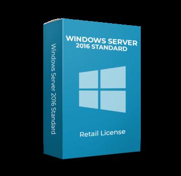 Microsoft Windows Server 2016 Standard - 16 Cores - Inglés
