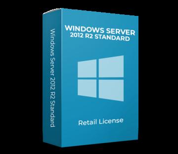 Microsoft Windows Server 2012 R2 Standard - 16 Cores - Inglés