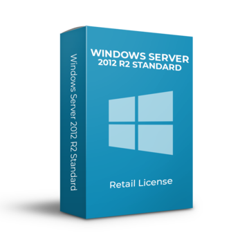 Microsoft Windows Server 2012 R2 Standard - 16 Cores - Inglés