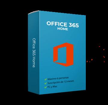 Microsoft Office 365 Hogar (Home) - 6 usuarios