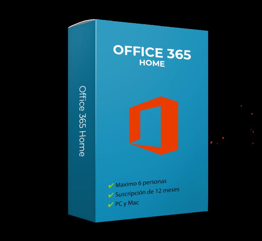 Microsoft 365 Family - 6 usuarios (12 meses)