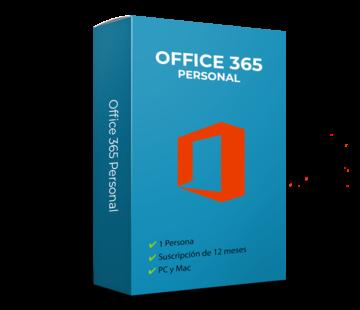 Microsoft Office 365 Personal - 1 usuario