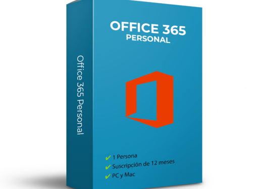 Microsoft Office 365 Personal - 1 usuario