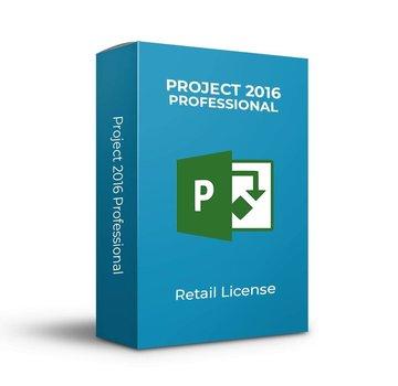 Microsoft Microsoft Project 2016 Pro - Retail
