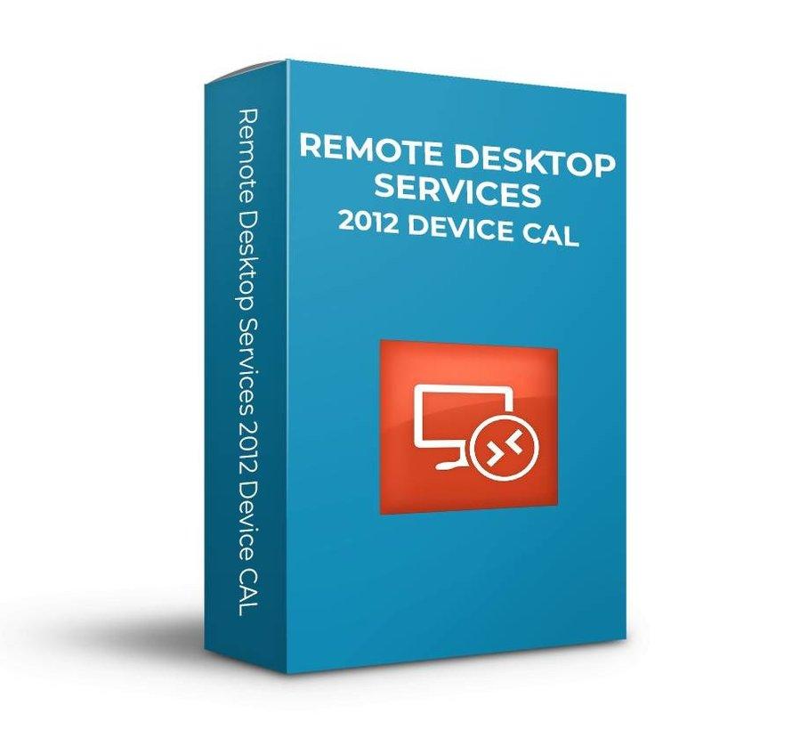 Microsoft  Remote Desktop Services 2012 Device  CAL - SKU: 6VC-02071