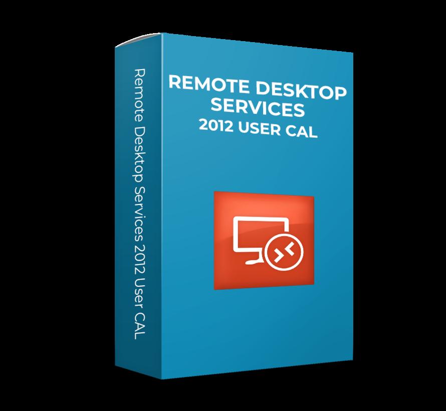 Microsoft  Remote Desktop Services 2012 User CAL - SKU: 6VC-02073