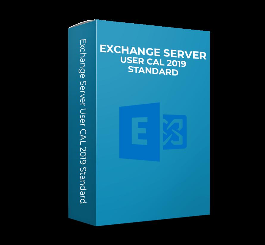 Microsoft Exchange Server User CAL 2019 Standard