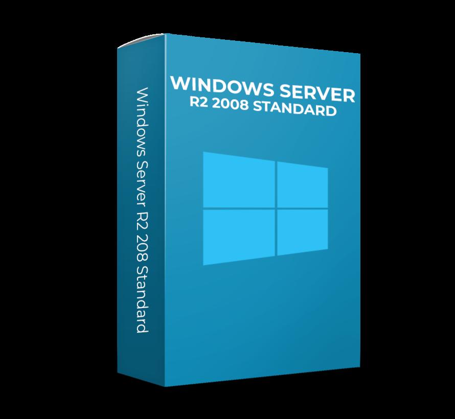 Microsoft Windows Server 2008 R2 Standard - 16 Cores