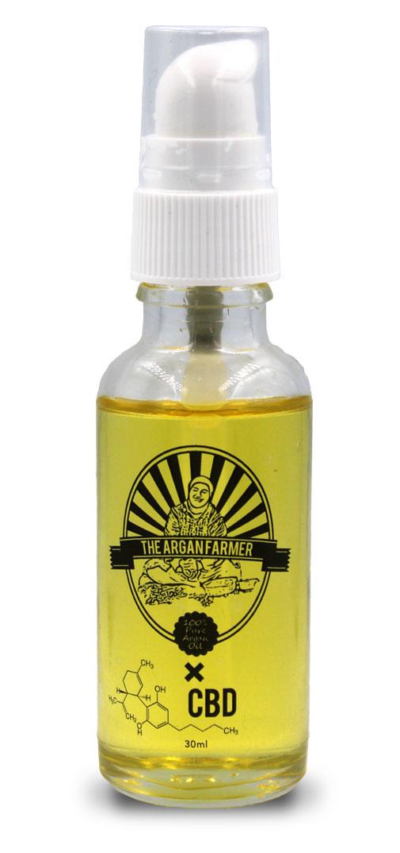 100 % Pure Argan Oil x CBD-1