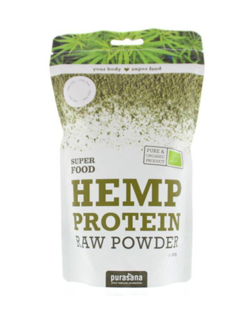 Purasana Hennep proteïnepoeder