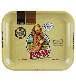 RAW RAW Bikini Girl Rolling Tray