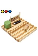 RAW RAW Rolling Box Bamboo