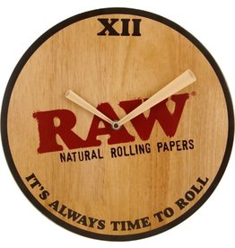 RAW RAW Wooden clock