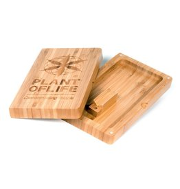 Plant Of Life Rolling Box Bamboo