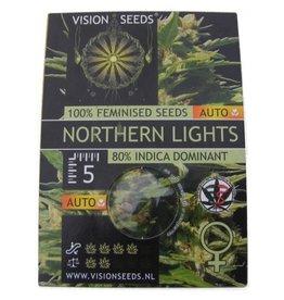 Auto Northern Lights Visionseeds 5 zaden