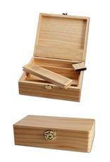 Black Leaf Spliff Box (L)
