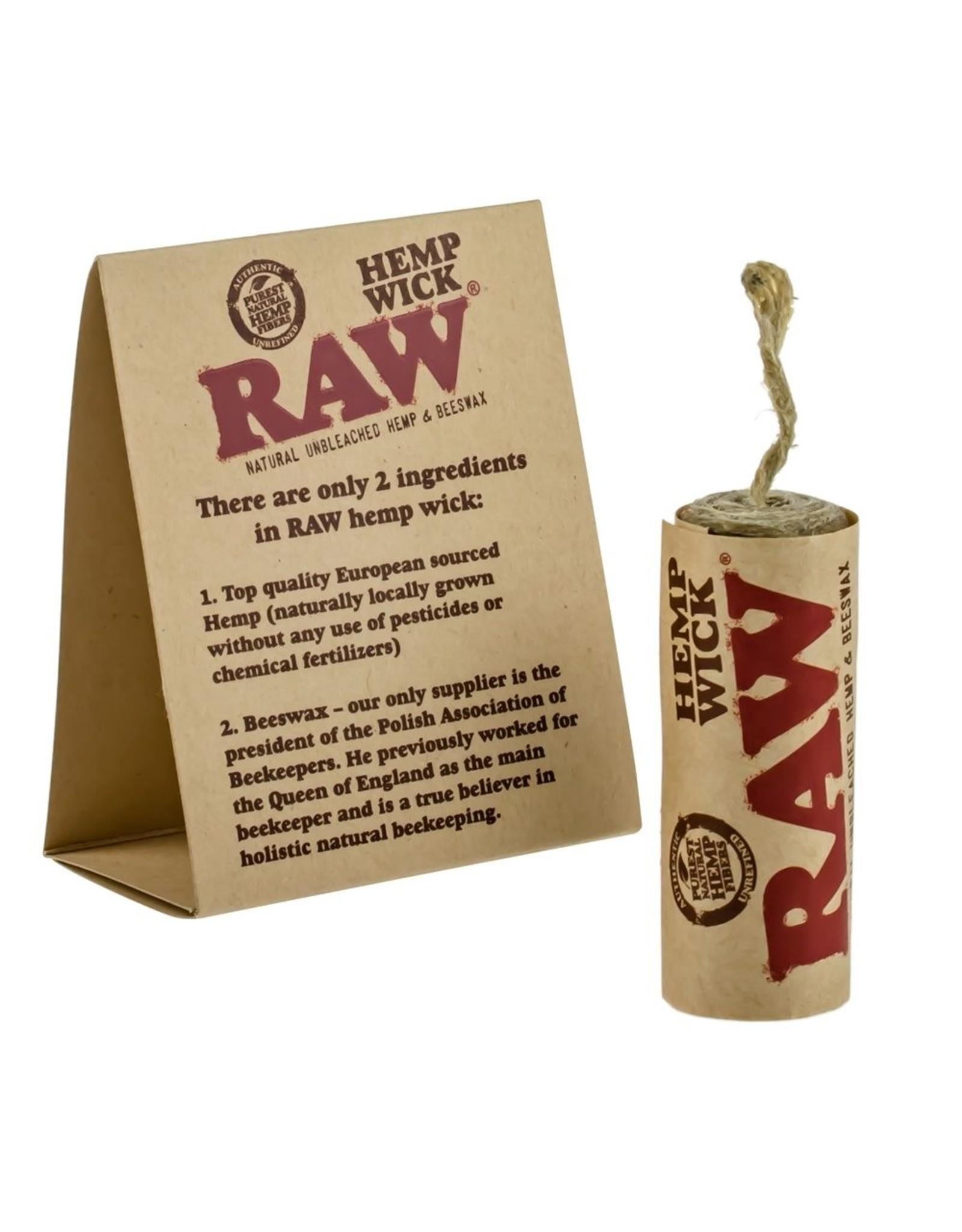 RAW RAW Hemp Wick