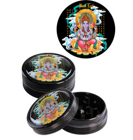Black Leaf Black Leaf 'Ganesha' Grinder Black (2 parts)