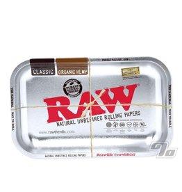 RAW RAW Silver Metallic Rolling Tray
