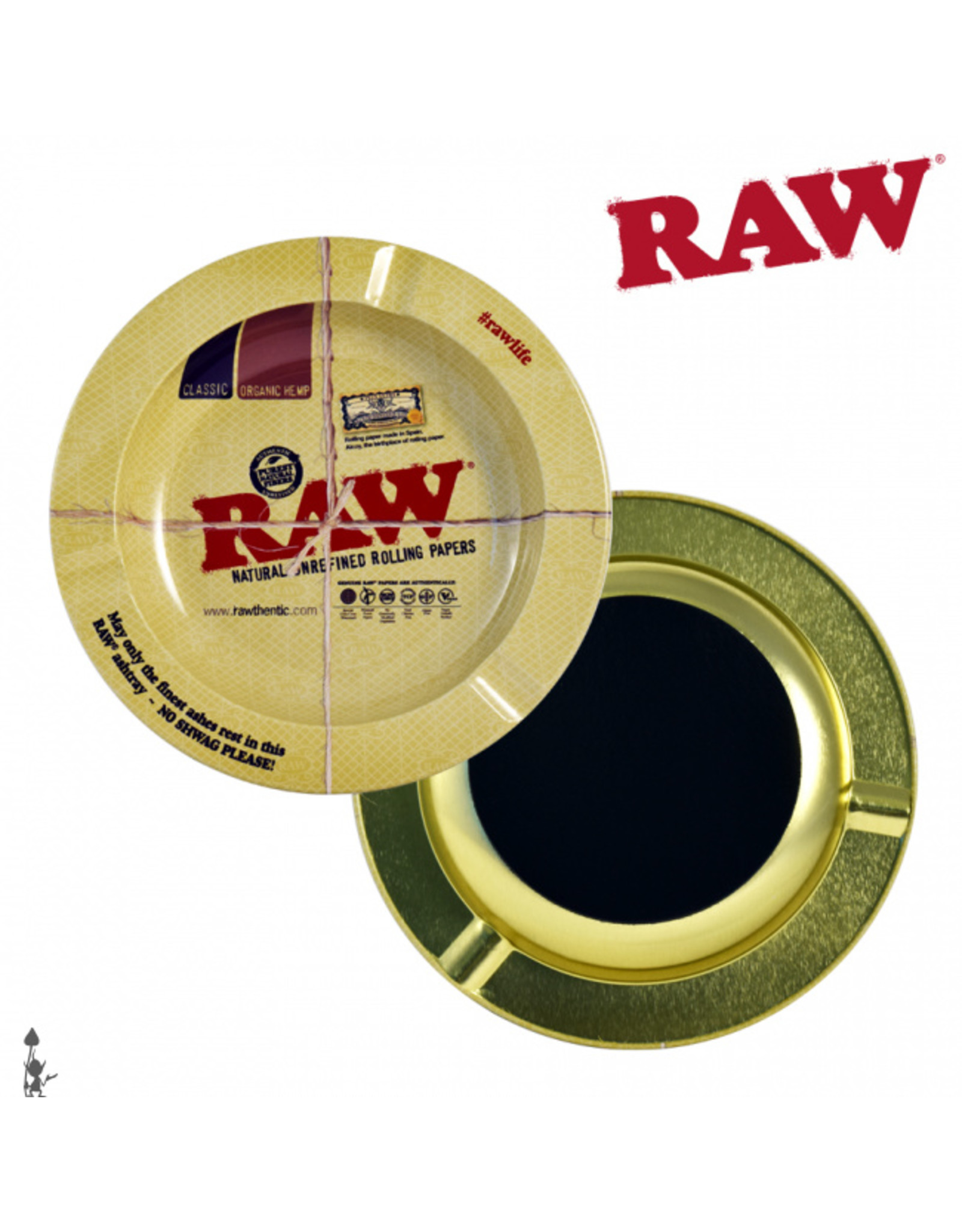 RAW RAW Magnetic Ashtray