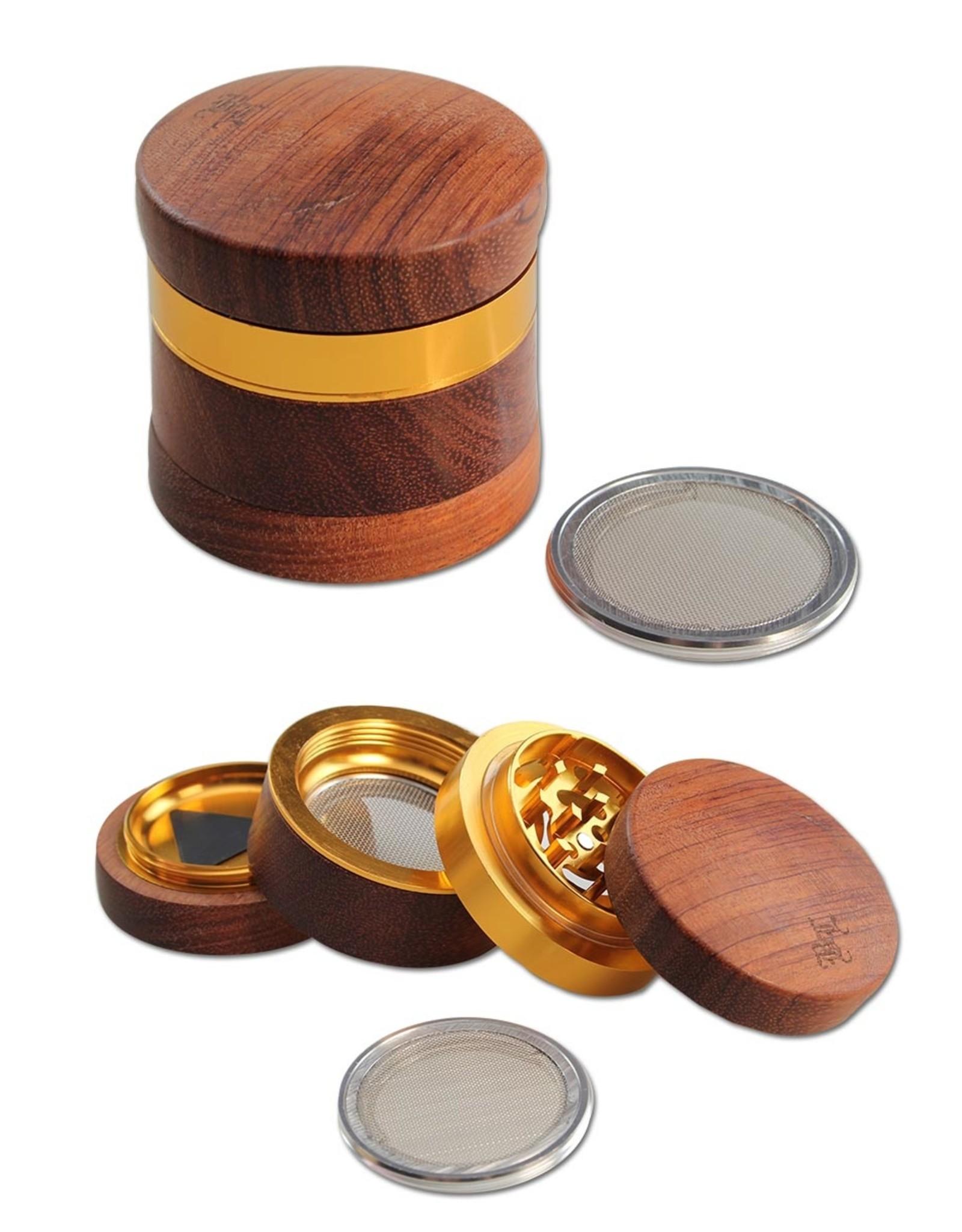 Black Leaf Wooden grinder