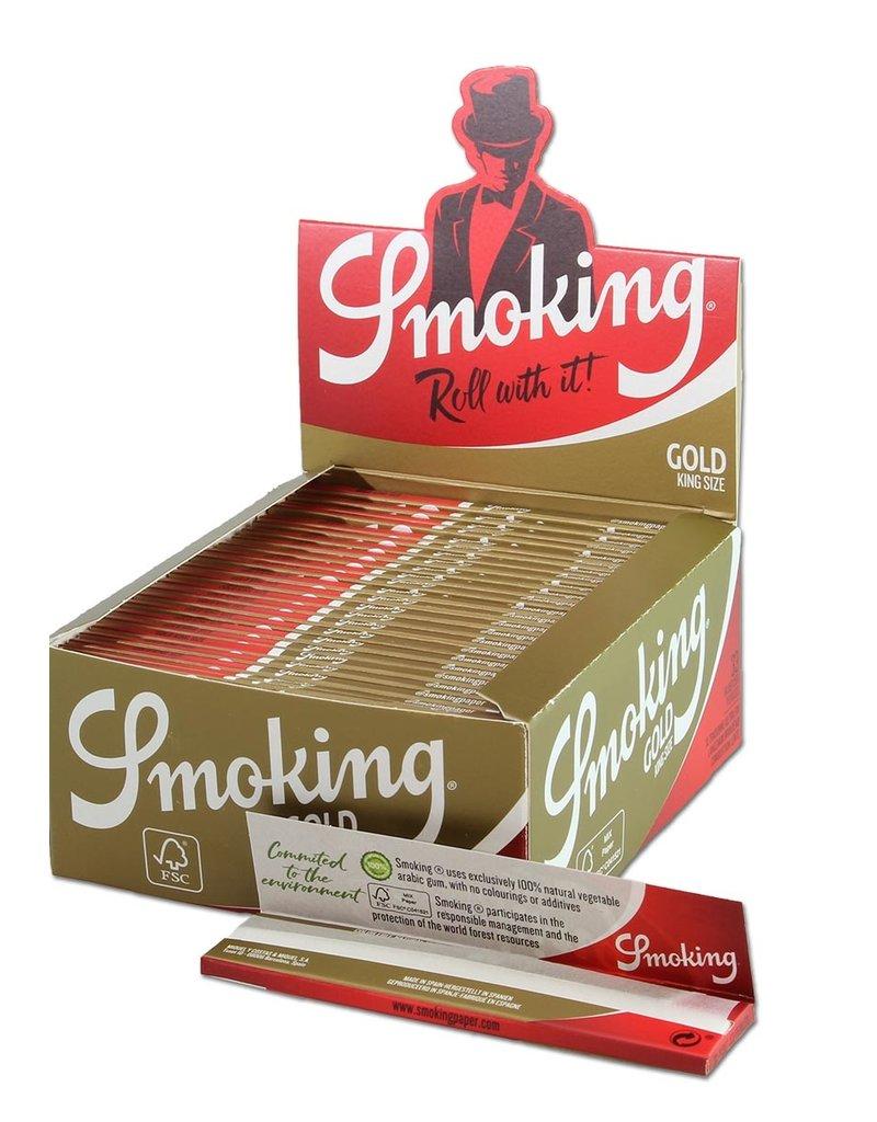 Smoking Smoking papers Gold box
