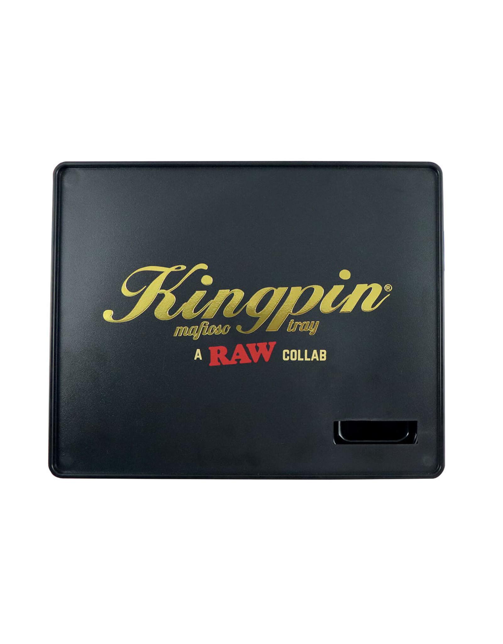 RAW RAW & Kingpin Mafioso Large Rolling Tray