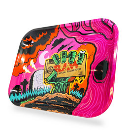 RAW RAW Zombie Large Metal Rolling Tray