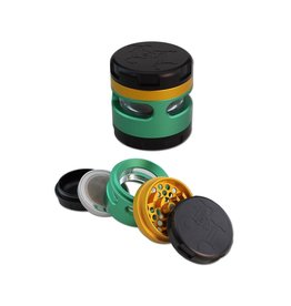 Black Leaf Black Leaf 'Windoz' Aluminium Grinder (4 parts)