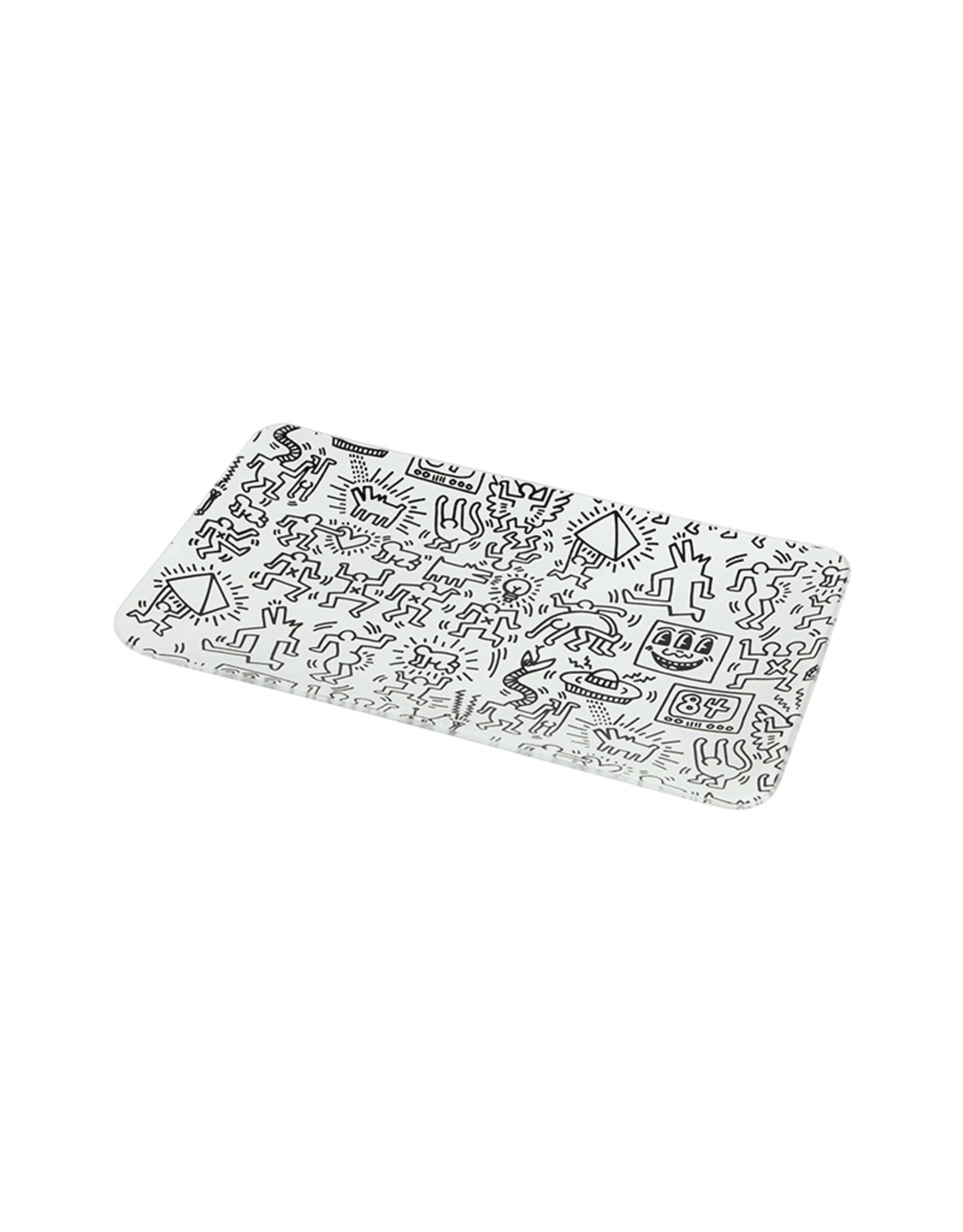 Keith Haring Keith Haring tray - Black White
