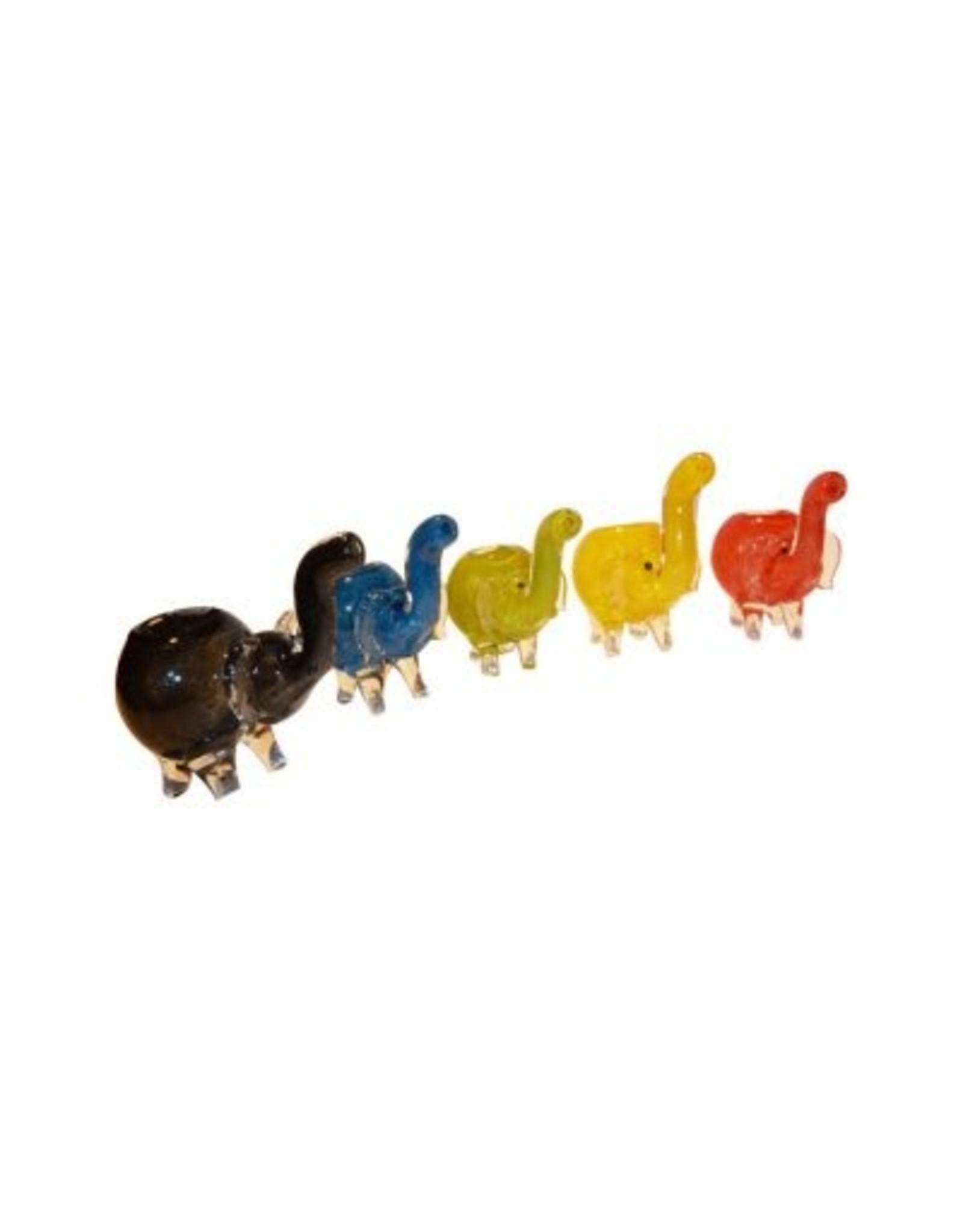 Elephant Glass Pipe