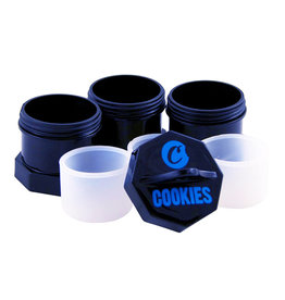 Cookies Cookies Stash Black Small (3pcs)
