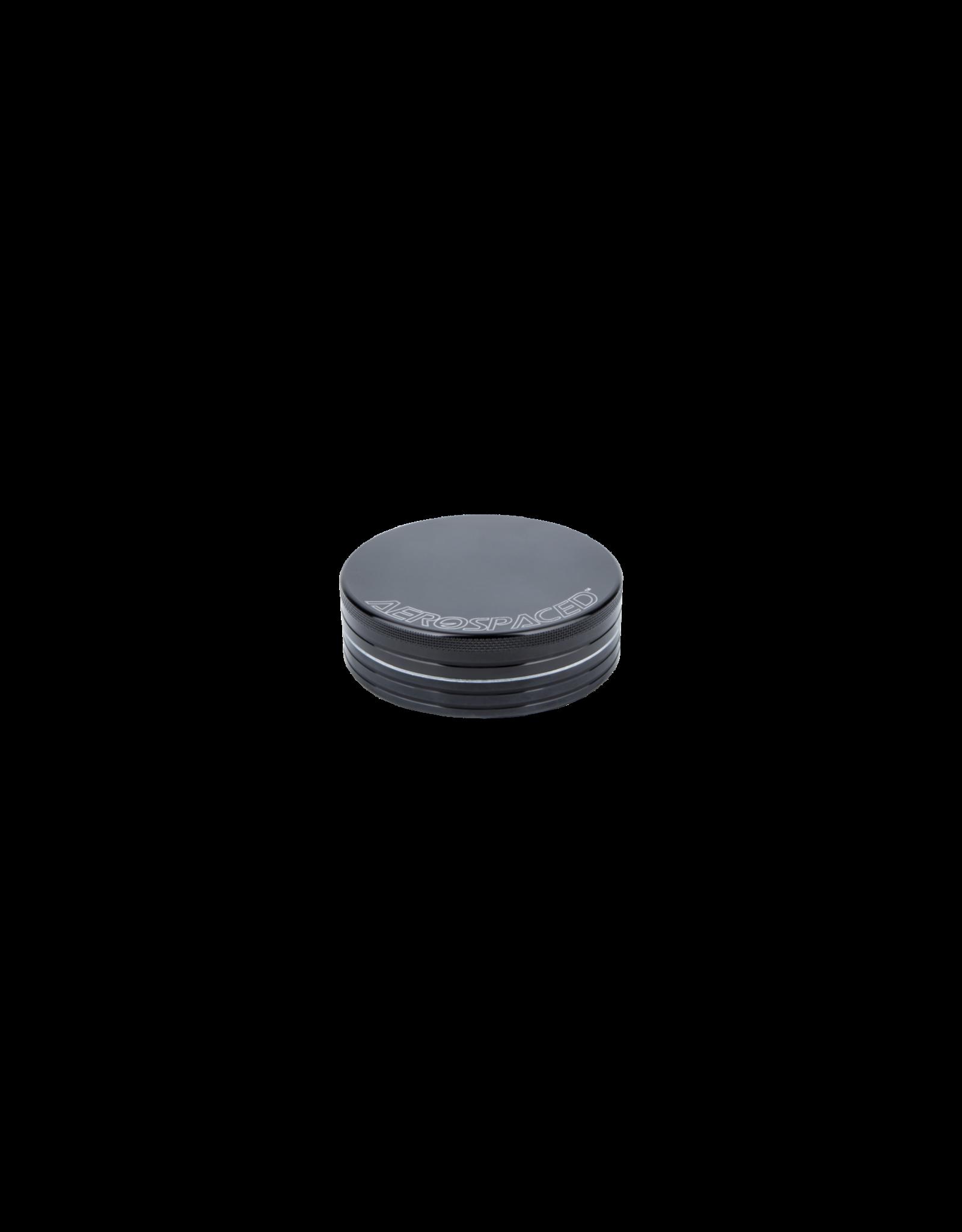 Aerospaced Grinder 50mm (2 parts) Black