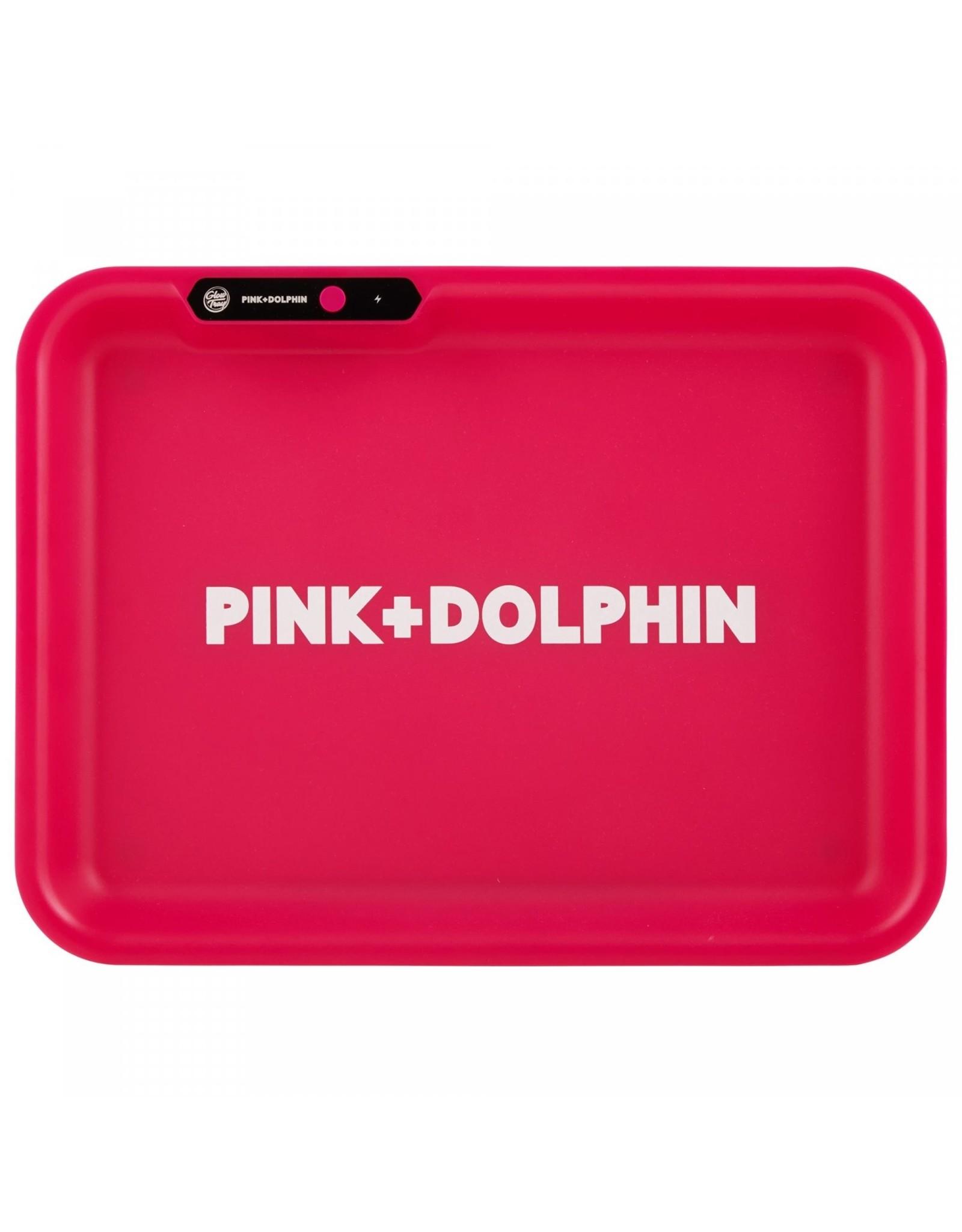 Glow Tray Pink Dolphine Glow Tray