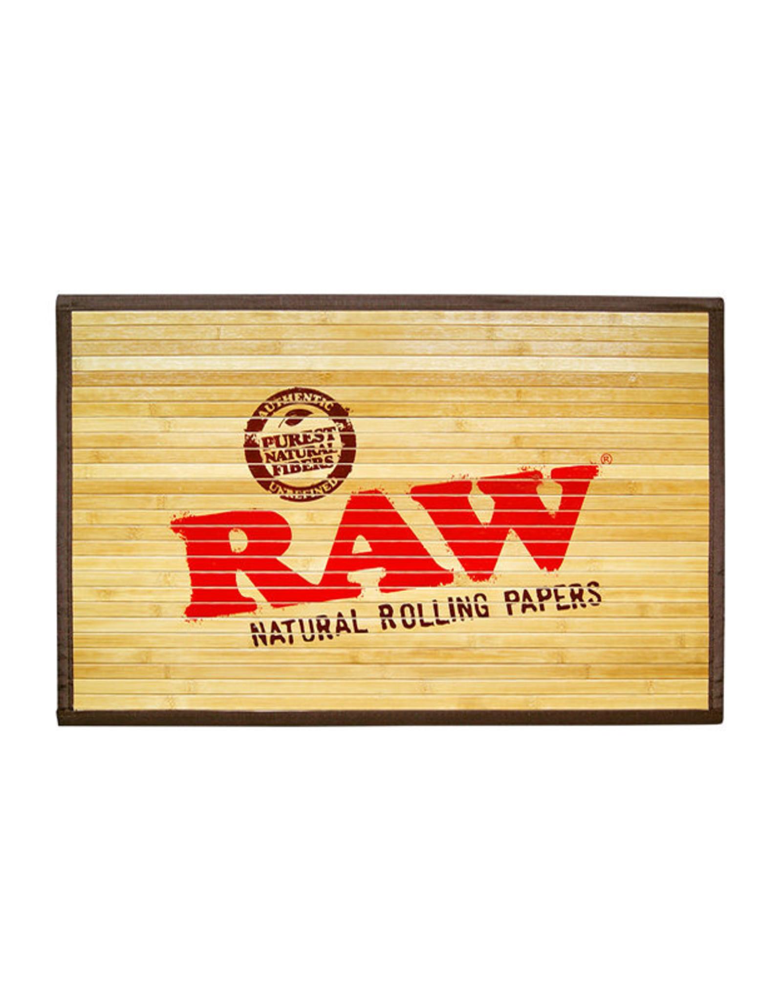 RAW RAW Bamboo Door Mat Large